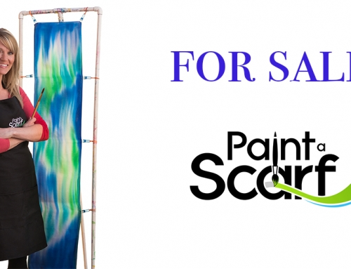 For Sale – Paint a Scarf